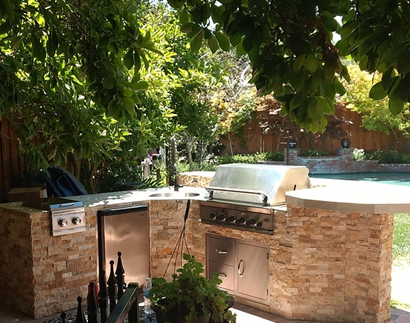 Outdoor Kitchen in Los Alto