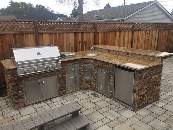 Counter space for an outdoor kitchen in San Jose, CA.jpg