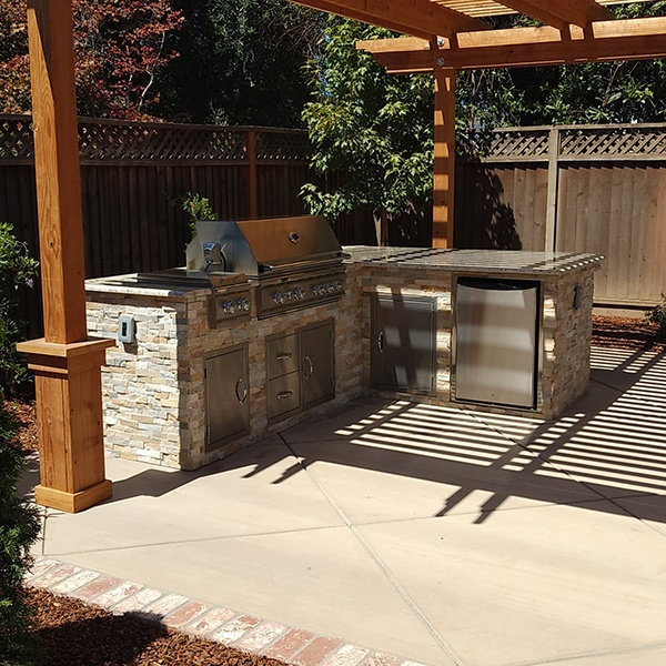 Tiny Backyard Outdoor Kitchen and Pergola in San Jose CA-1.jpg